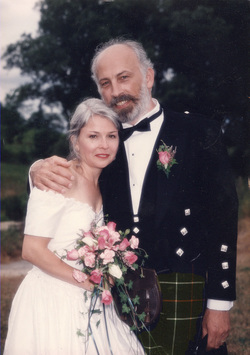 21 years of marriage to Douglas McKercher